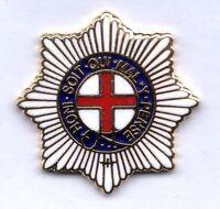 Enamel Lapel Badge Coldstream Guards Cap Star Lapel