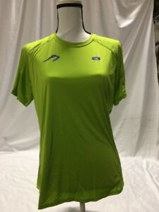 Newton-Running-Shirt-Jackie-By-SUGOI-SIZE-L-Women-039-s-Athletic-Shirt-Semi-FitJacki