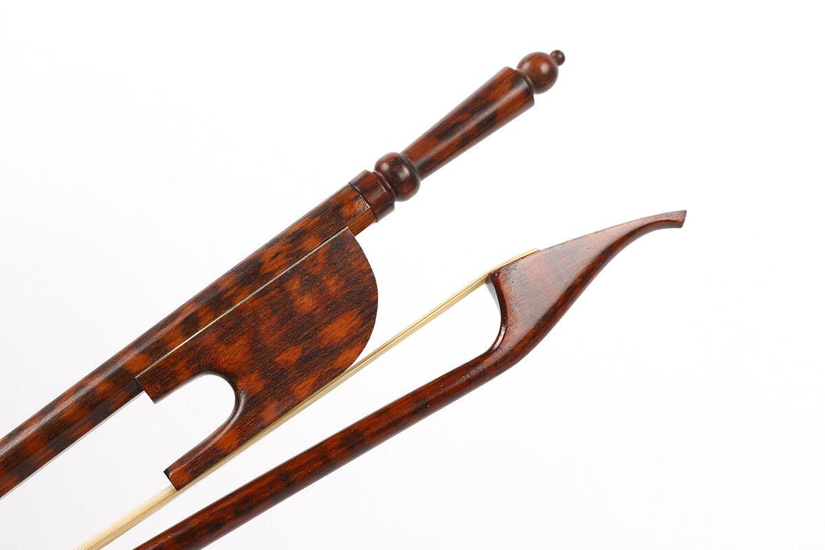 Nuevo 4 4 violín arco arco arco Snakewood tornillo largo estilo barroco arco de violín  110 1a62a5