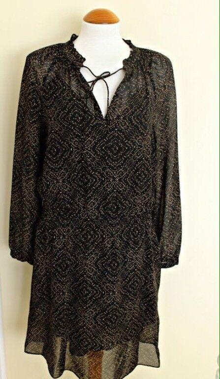 BNWT 100% Auth Ralph Lauren, Ladies Hamlai Brown Dress. 10 RRP .00