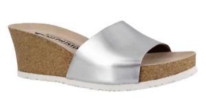 Nuevos productos de artículos novedosos. Mephisto Lise estrella de plata de níquel Sandalia de de de cuña confort para mujer Tallas 37-40    nuevo     venta directa de fábrica