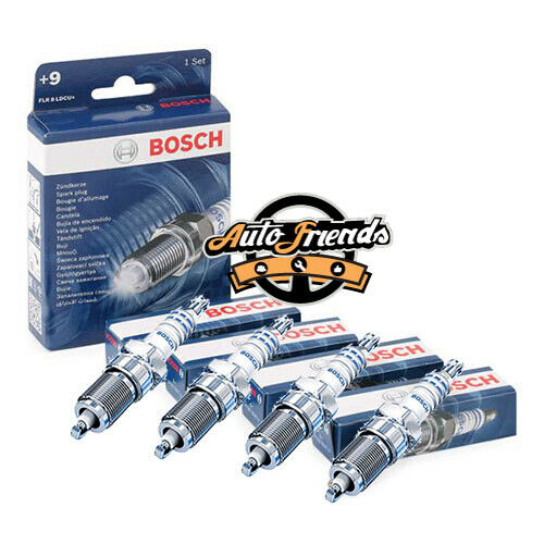 0242229785 BOSCH Kit 4 Candele accensione CADILLAC STS 3.6 257 hp 189 kW 3564 cc