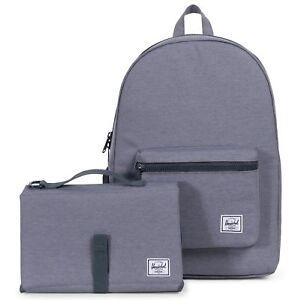 Herschel Sprout Backpack Mid Grey Crosshatch