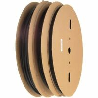 3 Reels Of 330 Ft Black Polyolefin Heat Shrink Tubing Ø1/8, Ø3/16, Ø1/4 on sale