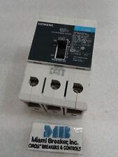 SIEMENS NGB 3 pole 15 amp 600Y//347v NGB3B015 Circuit Breaker New Take Out