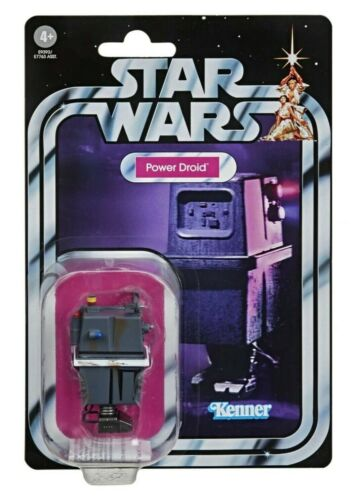 Star Wars Vintage Collection Power Droid Case Fresh Mint