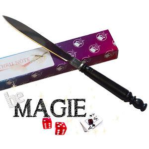 Couteau à travers le billet - Trans-Bill - Knif through bill - Tour de Magie