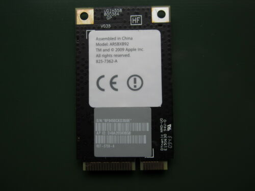 "Apple 825-7362-A iMac  21.5/"" 27/"" WIFI Airport Extreme Card AR5BXB92 607-3759-A"