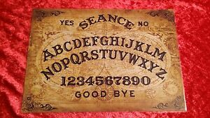 Victorian-Magic-Old-Globes-Ouija-Board-laminated-sheet-fortune-telling-seance