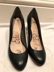 d3121f817853c8 Image is loading Black-Sam-Edelman-Shoes-UK-Size-5