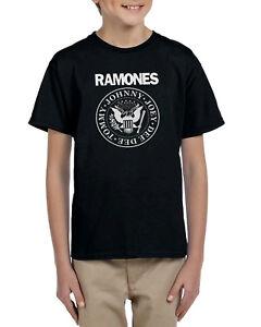 Camiseta-nino-nina-RAMONES-T-shirt-kids-hard-rock-punk-icon-different-sizes