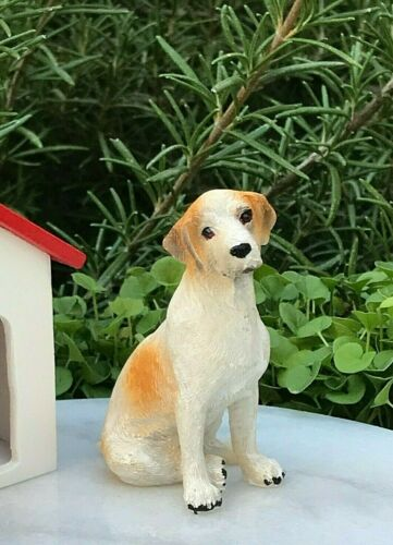 Miniature Dollhouse FAIRY GARDEN Accessories ~ Mini Labrador Dog Figurine