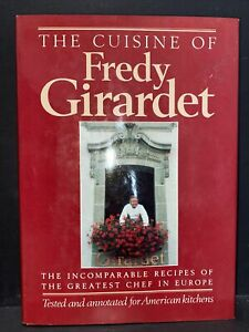 Vintage Cookbook : The Cuisine of Fredy Giradet / 1985 First American Edition