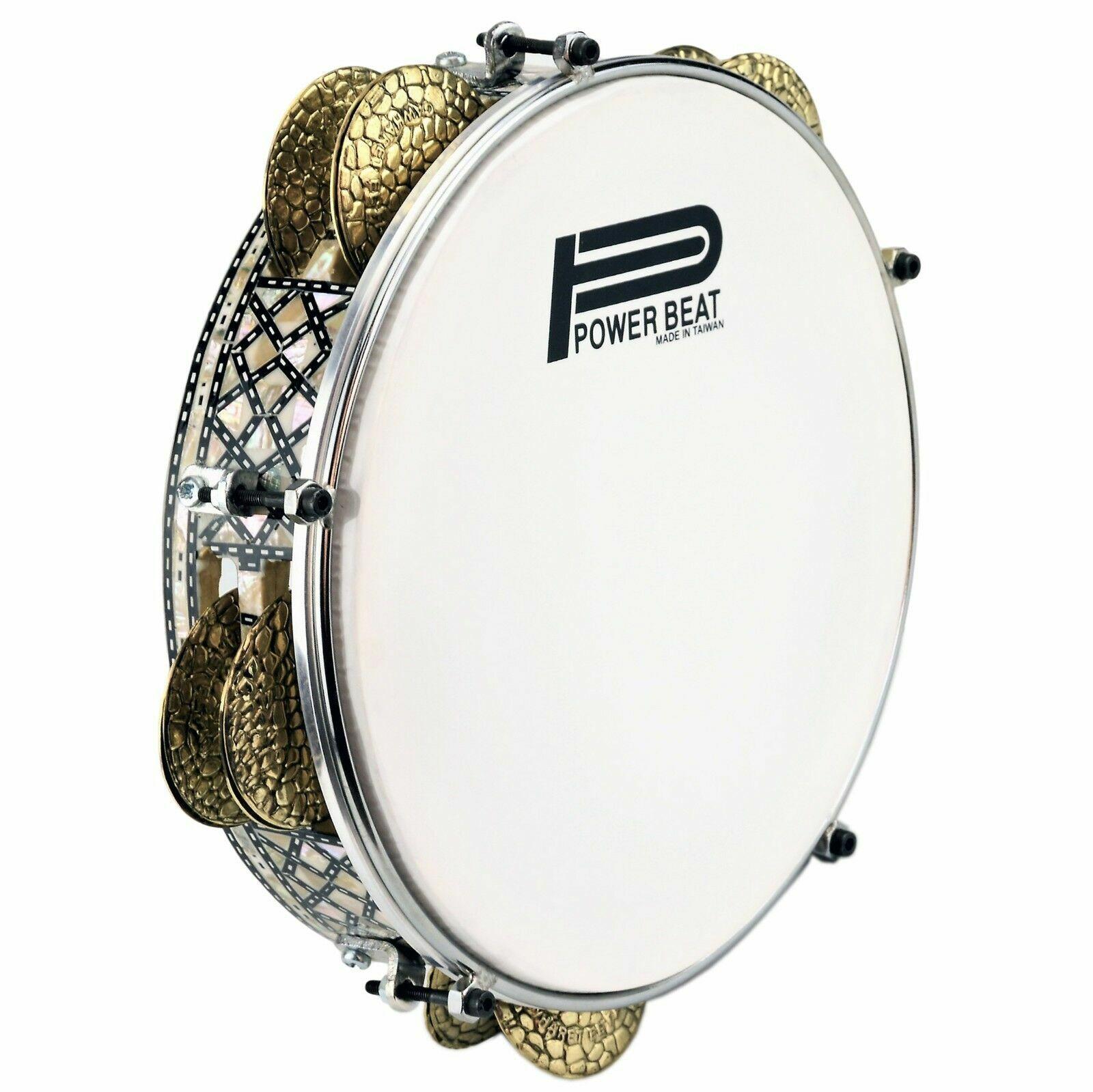 Ägyptische Professionell Pearl Req , Riq Trommel, Darbuka Gawharet El Fan 26.7cm