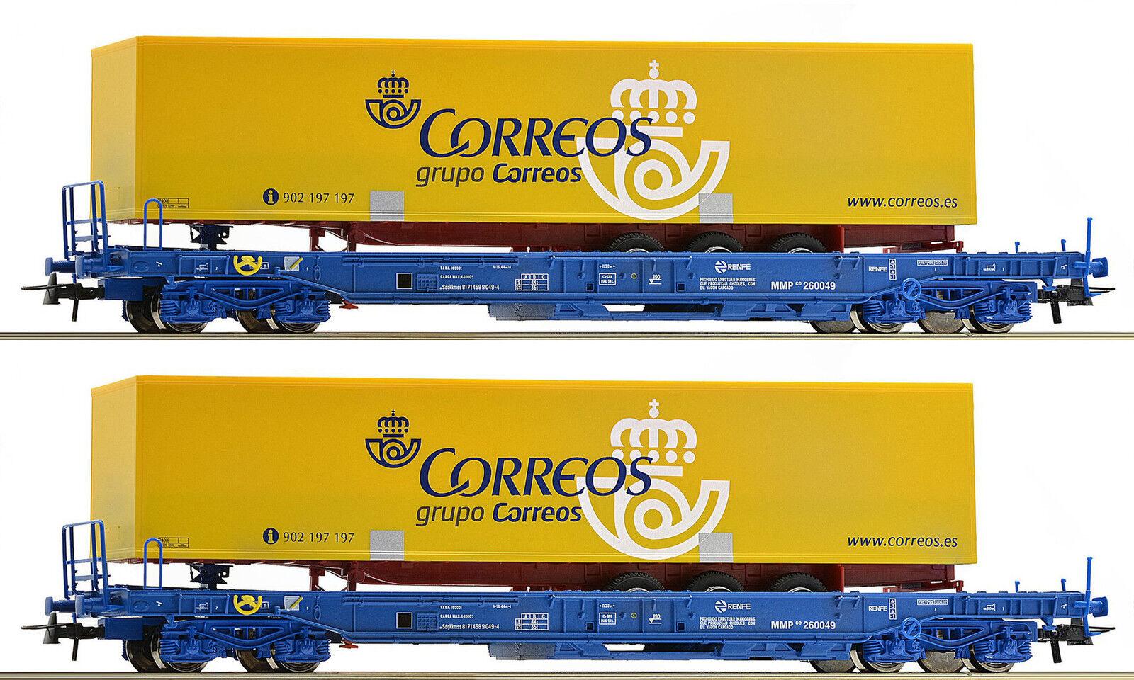 Roco 67509 , 2 Piezas, Set Unidades Vagones 3 ,Nuevo, Emb.orig