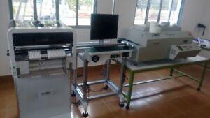 Details about 110/220V 1 2m PCB smt conveyor for pcba production line J12-J