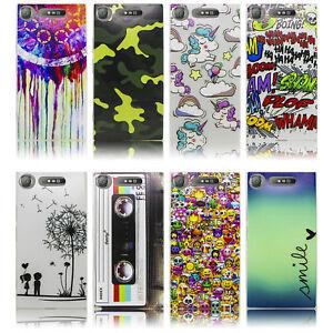 Sony-Xperia-XZ1-Silikon-Smartphone-Handy-Huelle-Tasche-Schutzhuelle-Case-Cover