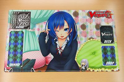 B440 Free Mat Bag Cardfight Vanguard Playmat Mermaid Velvet Voice Raindear