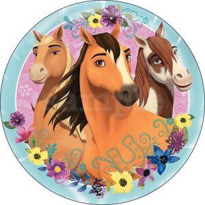 spirit wild und frei pferd eßbar tortenaufleger neu party deko geburtstag dvd   ebay
