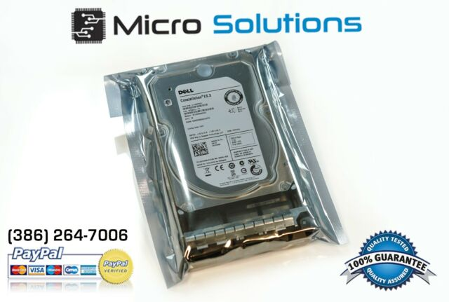 "Dell 0W347K W347K W348K 600GB 6G 15K 3.5"" SAS Hard Drive W/ Tray"