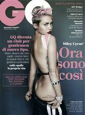 GQ,Miley Cyrus,Mario Testino,Jeff Bridges,John le Carre,Matthias Schoenaerts NEW