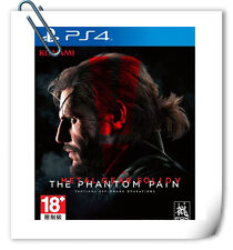 PS4 Metal Gear Solid V: The Phantom Pain SONY PLAYSTATION Game Konami Action