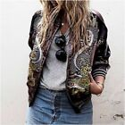 ZARA aw16 LIMITED EDITION reversible embroidered bomber jacket 3440/242_S,M