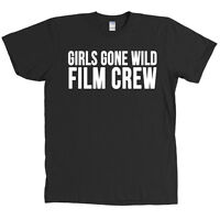 Girls Gone Wild Film Crew T Shirt Halloween Costume Camera Man Funny Tee - NEW
