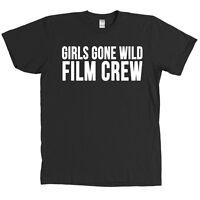 Girls Gone Wild Film Crew T Shirt Halloween Costume Camera Man Funny Tee -