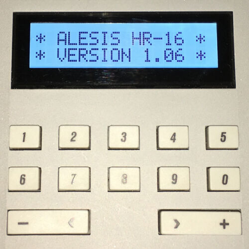 REPLACEMENT SCREEN ALESIS HR-16 HR-16B /& MMT-8 LCD DISPLAY LIGHT BLUE