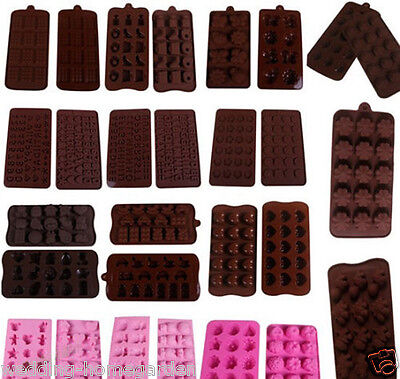 Silicone Muffin Chocolate Cake Cookie Candy Jelly Ice Baking Mould Mold Bakeware