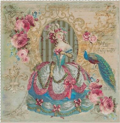 Marie in Pink Shabby Chic French DIGITAL Counted Cross-Stitch Pattern Chart