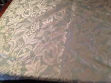 2.9 metres Pierre Frey Mandarin jacquard brocade linen/silk fabric in emeraud