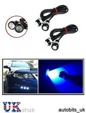 4 X 12V 10W LED BLUE EAGLE EYE DAYTIME RUNNING DRL FOG LIGHT CAR MOTORCYCLE BIKE