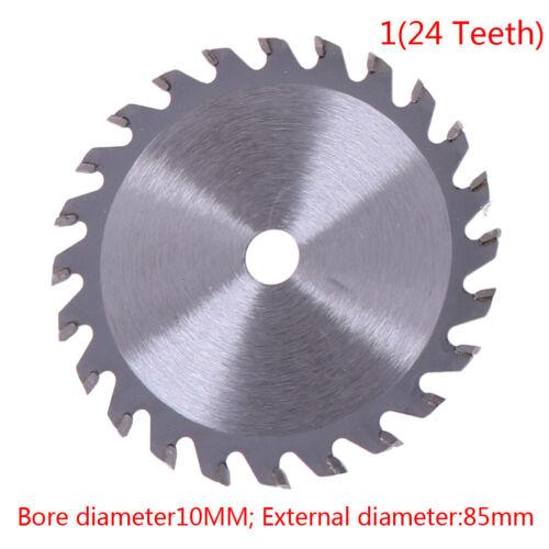 85mm 24//30//36T Circular Saw Wheel Discs diamond cutting blade For Wood CuttingBB