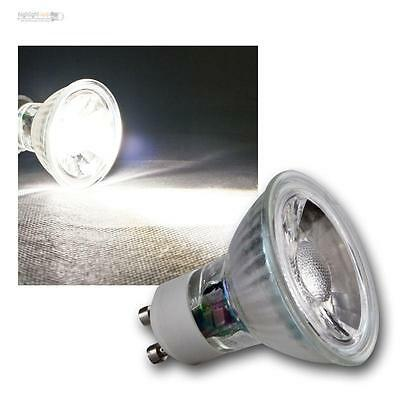 5 x GU10 LED Leuchtmittel, 5W COB daylight weiß 420lm, Strahler Birne Spot 230V