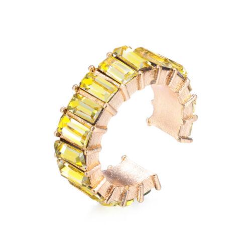 C-förmige CZ Handschellen Ohrringe Kubische Ohrfessel aus Zirconia Statement