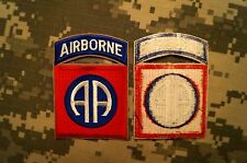 Novelty Military Patch US Army 82nd Airborne Division Dress Color Perfect Cond