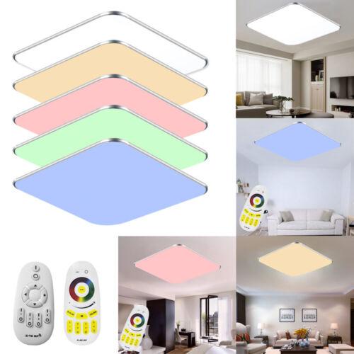 36W LED Dimmbar Deckenleuchte Deckenlampe Arbeitszimmer Flur Badleuchte RGB DHL