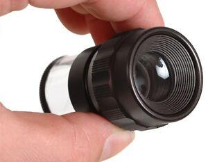 achromatische Messlupe 7x21mm + Lederhülle / Magnifier