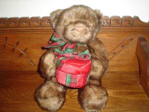 GUND 2004 15 Inch Minky Bear with Velvet Case 44536