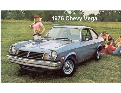 Tool Box  Magnet 1975 Chevy Vega  Auto Car Refrigerator