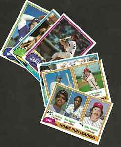 1981 TOPPS BASEBALL CARDS YOU PICK 20 cards!!  Mint condition!!