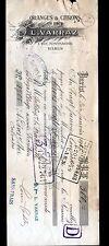 """PARIS (I°) AGRUMES en gros / ORANGES CITRONS """"L. VARRAZ"""" en 1922"""
