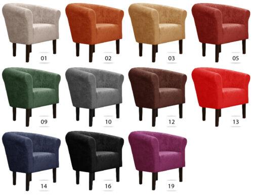 Fauteuil Fauteuil Club Lounge Fauteuil Cocktail fauteuil Monaco mikrovelur w426 FORTISLINE