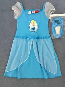Girls-Princess-dress-with-matching-slip-on-shoes-NEW-size-6-7