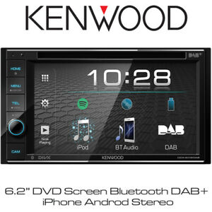 """Details about Kenwood DDX-4019DAB - 6 2"""" DVD Screen Bluetooth DAB+ iPhone  Android Stereo BNIB"""