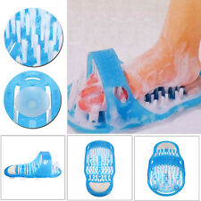 Easy Feet Cleaner Foot Spa Shower Brush Bath Massage Scrubber Flip Flop Slippers