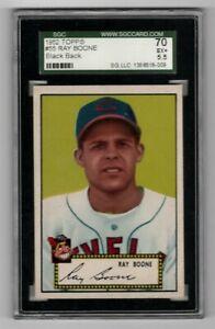 1952-Topps-Baseball-55-Ray-Boone-black-back-SGC-5-5-EX-CENTERED
