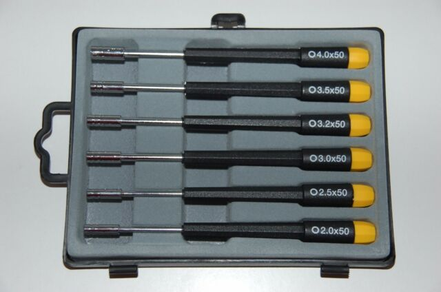 Precision Allen Socket Wrench 6 Pcs 280-66 Nip